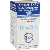 AmbroHEXAL Hustensaft für Kinder