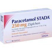 Paracetamol STADA 250mg Zäpfchen