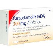 Paracetamol STADA 500mg Zäpfchen