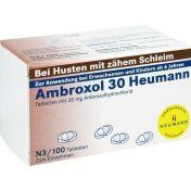 AMBROXOL 30 HEUMANN