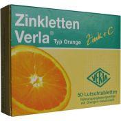Zinkletten Verla Orange