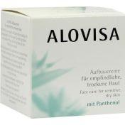 ALOVISA Aufbaucreme f. empf./tr. Haut