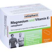 MAGNESIUM und VITAMIN E-ratiopharm günstig im Preisvergleich