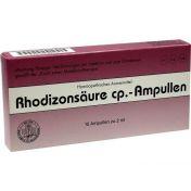 Rhodizonsäure cp. Ampullen