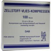 ZELLSTOFF VLIES-KOMPRESSEN 10CMX20CM UNSTERIL günstig im Preisvergleich