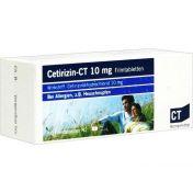 Cetirizin - ct 10mg Filmtabletten