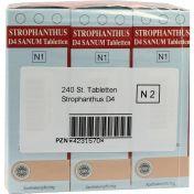 Strophanthus D 4 Sanum Tabletten