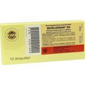 MUSCARSAN D 6 Flüssige Verdünnung zur Injektion
