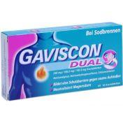 Gaviscon Dual 250mg/106.5mg/187.5mg