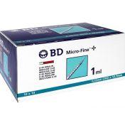 BD Micro-Fine+ U40 Ins.Spr.12.7mm