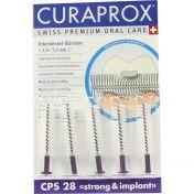 Curaprox CPS 28 violett Interdentalbürsten
