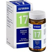 Biochemie Orthim NR17 Manganum sulfuricum D12