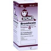 BROMHEXIN K.Meuselb.Trf.8mg/ml