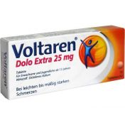 Voltaren Dolo Extra 25 mg überzogene Tabletten