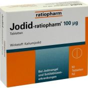 Jodid-ratiopharm 100ug