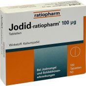 Jodid-ratiopharm 100 ug günstig im Preisvergleich