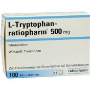 L-Tryptophan-ratiopharm 500 mg