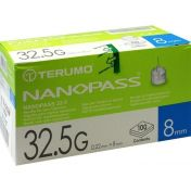 TERUMO NANOPASS 32.5 Pen Kanüle 0.22x8mm