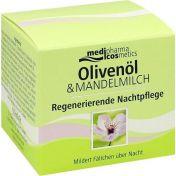 Oliven-Mandelmilch Regenerierende Nachtpflege