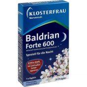 Klosterfrau Baldrian forte 600 Nervenruh