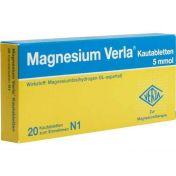 MAGNESIUM VERLA Kautabletten