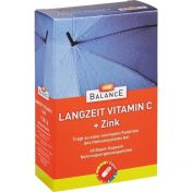 GEHE BALANCE Langzeit Vitamin C+Zink depot kaps