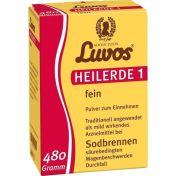 Luvos HEILERDE 1 fein Pulver