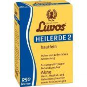 Luvos HEILERDE 2 hautfein Pulver