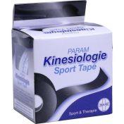 Kinesiologie Sport Tape 5cm x 5m Schwarz