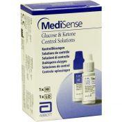 MediSense Kontrolllösungen Glucose + Ketone H/L