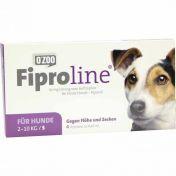 Fiproline 67mg Lösung z.Auftropfen f.kl.Hunde Vet.