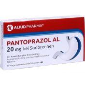 Pantoprazol AL 20mg bei Sodbrennen günstig im Preisvergleich