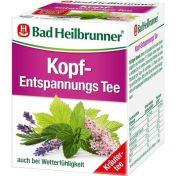 Bad Heilbrunner Kopf-Entspannungstee günstig im Preisvergleich