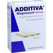 ADDITIVA Magnesium 400mg Filmtabletten günstig im Preisvergleich