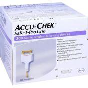 Accu-Chek Safe-T-Pro Uno II günstig im Preisvergleich