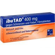 ibuTAD 400mg gegen Schmerzen und Fieber Filmtabl. günstig im Preisvergleich