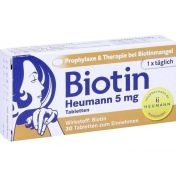 Biotin Heumann 5mg Tabletten