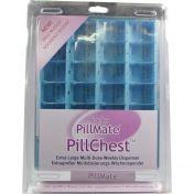 Tablettenbox 1 Woche 28 Fächer mit Klappdeckel