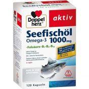 Doppelherz Seefischöl Omega-3 1000mg + Folsäure