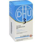 BIOCHEMIE DHU 3 Ferrum phosphoricum D12 Tabl. günstig im Preisvergleich