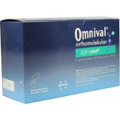 OMNIVAL orthomolekular 2OH vital 30 TP Gran+Kaps.
