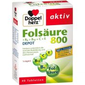 Doppelherz Folsäure 800+B-Vitamine
