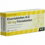 Eisentabletten AbZ 100mg Filmtabletten
