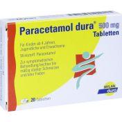 Paracetamol dura 500mg Tabletten