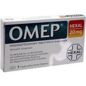 Omep HEXAL 20mg magensaftresistente Tabletten
