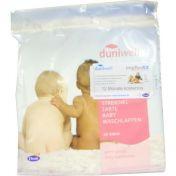 DUNIWELL streichelzarte Baby-Waschlappen