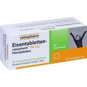 Eisentabletten-ratiopharm 100mg Filmtabletten günstig im Preisvergleich