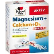 Doppelherz Magnesium + Calcium + D3 direct