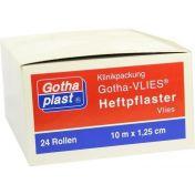 GOTHAPLAST HEFTPFLASTER 10MX1.25CM VLIES AUF KERN