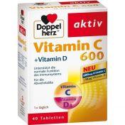 Doppelherz Vitamin C 600 + Vitamin D